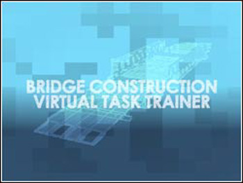 US Army Bridge Construction Virtual Task Trainer