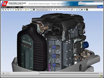 Honda BF225 Outboard Engine VTT