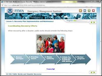 FEMA Public Works Emergency Management Training
