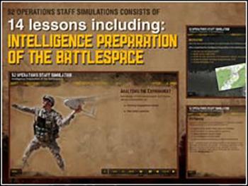 US Army S2 Operations Staff Simulation