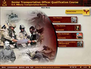 US Army Senior Transportation Officer Qualification Course