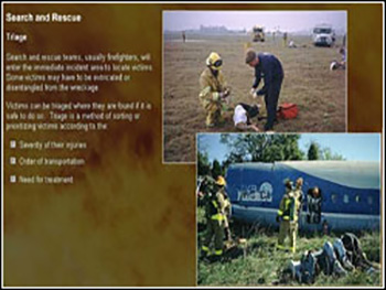 FAA Aircraft Rescue and Fire Fighting Training