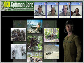 US Army NCO 3D Collaborative Exercise