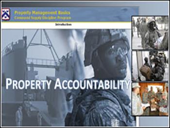 US Army Property Accountability