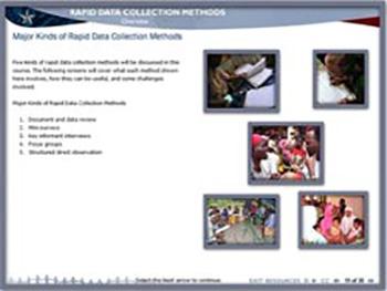 USAID Rapid Data Collection Methods
