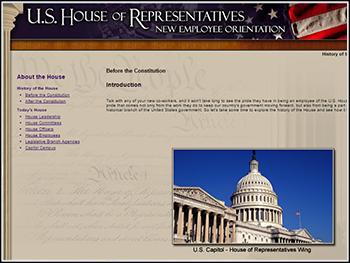 House of Representatives New Employee Orientation