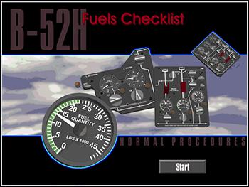 USAF B-52H Fuels Checklist