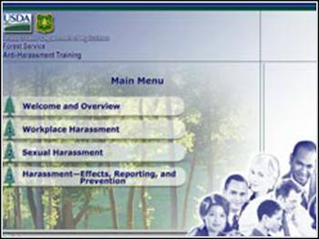 USDA Anti-Harassment Web-based Training