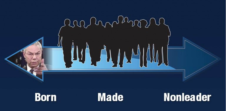 leaders born and made essay