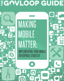 GovLoop Making Mobile Matter Guide Cover