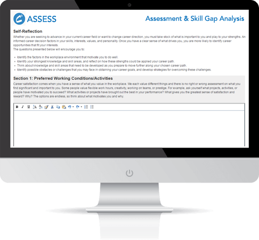 C2Assess - A Simple Yet Robust Solution For Skill Gap Analysis